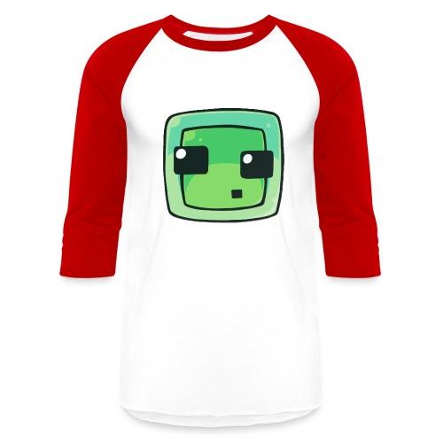 Minecraft Slime Men's Shirt - Baseball T-Shirt