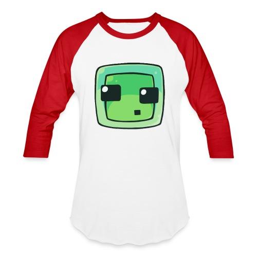 Minecraft Slime Men's Shirt - Baseball T-Shirt