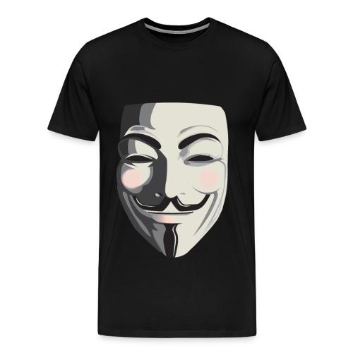 Anonymous-Face T-Shirt - Men's Premium T-Shirt