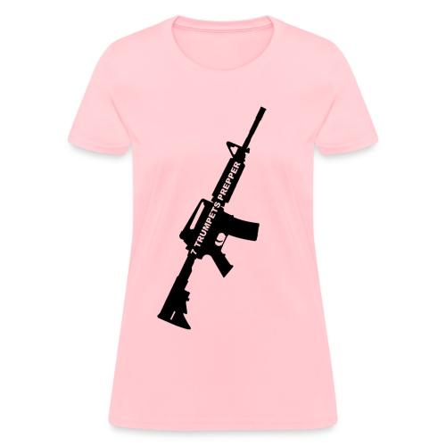 7 Trumpets Prepper AR15 (Ladies) - Women's T-Shirt
