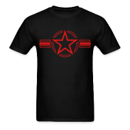 T-Shirts ~ Men's T-Shirt ~ Army Navy Air Force Star