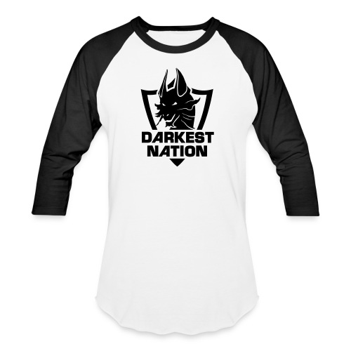 DN Steelix Baseball T-Shirt - Dusky Black - Baseball T-Shirt