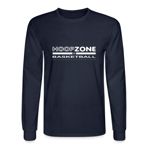 HZ3 long sleeve T w/light art 2 sides - Men's Long Sleeve T-Shirt