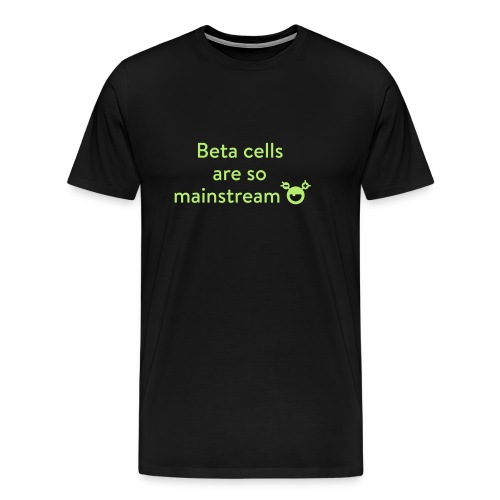 Men's Premium T-Shirt - Get out of the crowd! Want to know more about the monster, have a look at mysugr.com.