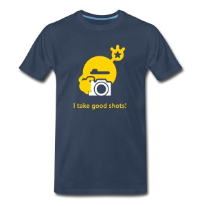 Men's Premium T-Shirt - Let's show the world your special abilities. ;) Want to know more about the monster, have a look at mysugr.com.