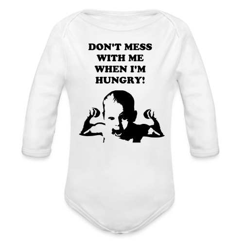 Organic Long Sleeve Baby Bodysuit - For every parent who's felt the pain of raising a child.