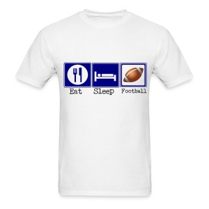 Eat, Sleep, Football - Men's T-Shirt