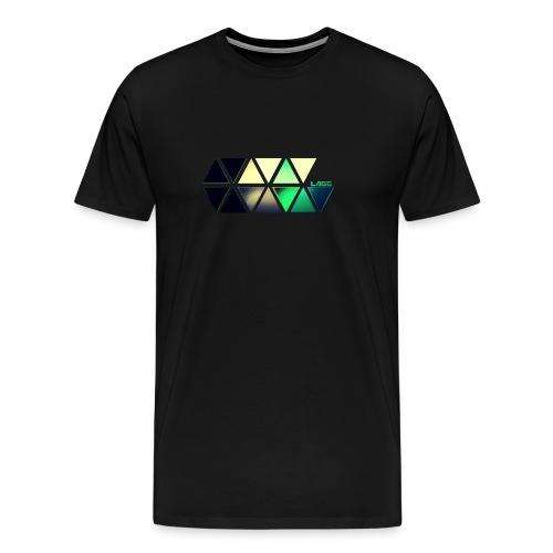 Coloured Lagg Slider T-Shirt men's  - Men's Premium T-Shirt