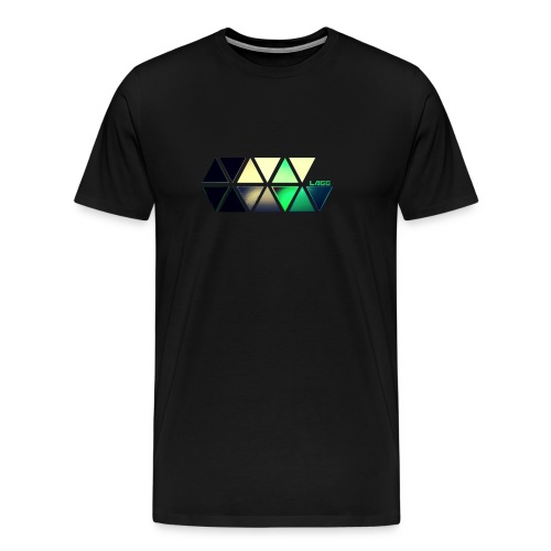 Coloured Lagg Slider T-Shirt men's  - Men's Premium T-Shirt