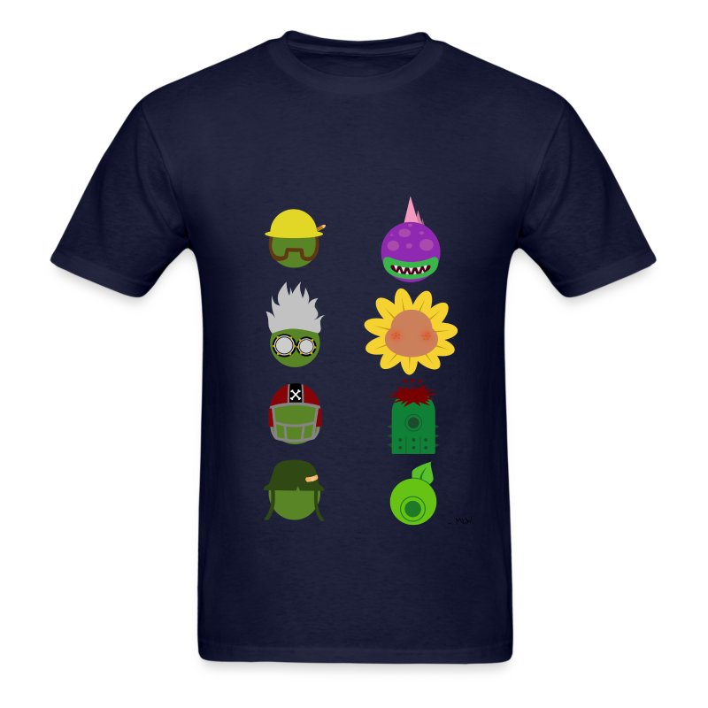 Simply PvZGW Characters - Men's T-Shirt
