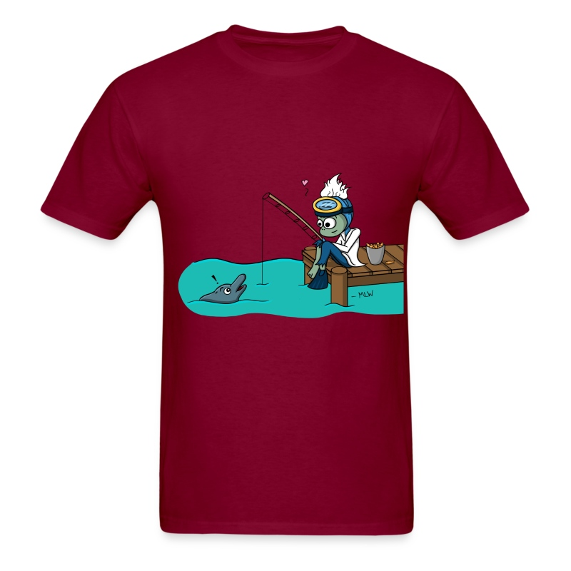 Marine Bio love - Men's T-Shirt