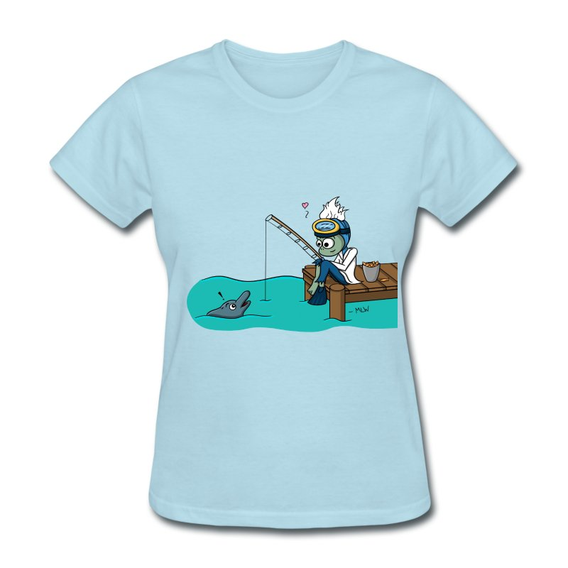 Marine Bio love - Women's T-Shirt