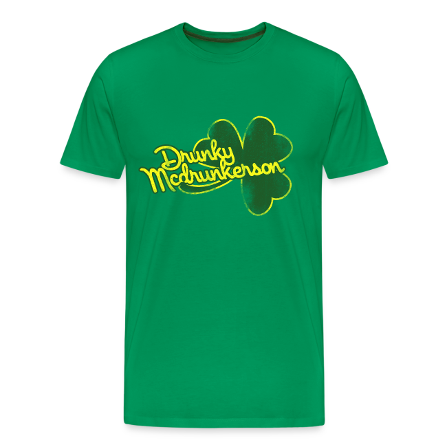 4fc818991 Men's Premium T-Shirt. (2460). Funny St Patricks Day Party