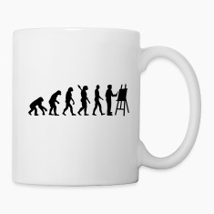 Evolution Painter Mugs & Drinkware