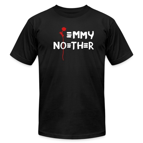 [emmy-noether] - Men's T-Shirt by American Apparel