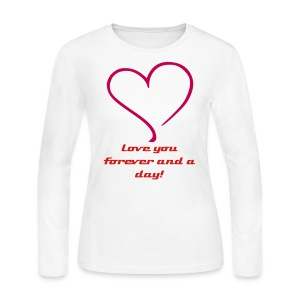 Forever and a Day - Women's Long Sleeve Jersey T-Shirt