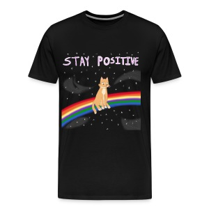 Stay Positive Men's Premium T - Men's Premium T-Shirt