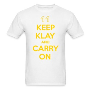 Keep Klay and Carry On - Men's T-Shirt