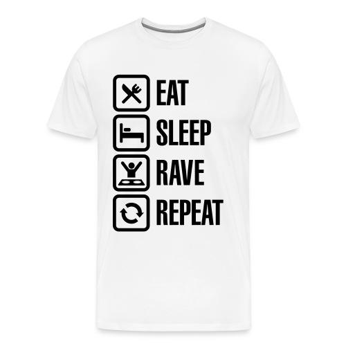 Ravepsycho T - Shirt (Limited Edition) (Mens Shirt #5) - Men's Premium T-Shirt