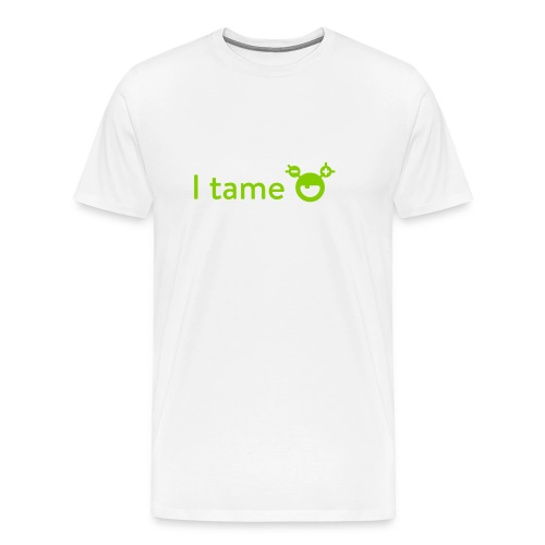 Men's Premium T-Shirt - Show off your skills monster tamer! Want to know more about the monster, have a look at mysugr.com.