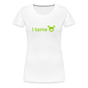 Women's Premium T-Shirt - Show off your skills monster tamer! Want to know more about the monster, have a look at mysugr.com.