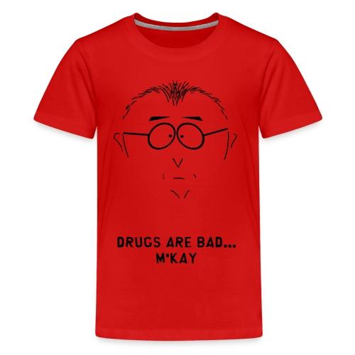 South Park Drugs Are Bad  Kid's Tshirt - Kids' Premium T-Shirt