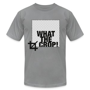 What the Crop! - Men's T-Shirt by American Apparel