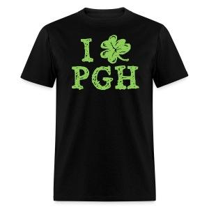 I Love Pittsburgh St. Patrick's T - Men's T-Shirt