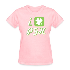 I Love Pittsburgh St. Patrick's T - Women's T-Shirt