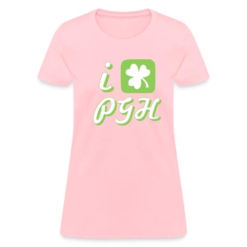 I Love Pittsburgh St. Patrick's T - Women's T-Shirt