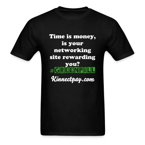 #Greenpill Collection: If time is Money? - Men's T-Shirt