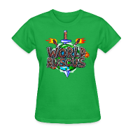 Women's T-Shirts ~ Women's T-Shirt ~ World Buscus