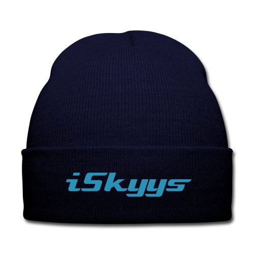 iSkyys Beanie - Knit Cap with Cuff Print