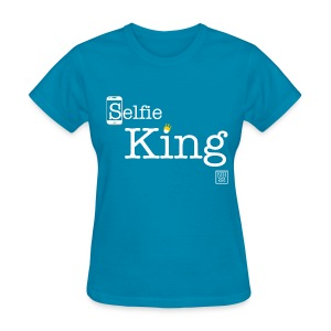 Selfie King (White) Women's T-shirt - Women's T-Shirt