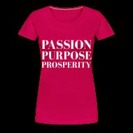 T-Shirts ~ Women's Premium T-Shirt ~ Full life.