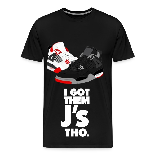 Cartoon Jordans - Men's Premium T-Shirt