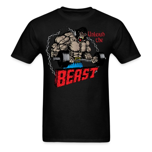 Unleash the Beast - Men's T-Shirt