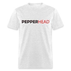 PepperHead Logo Ash - Men's T-Shirt