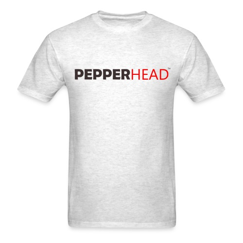 PepperHead Logo Ash - Men's T-Shirt