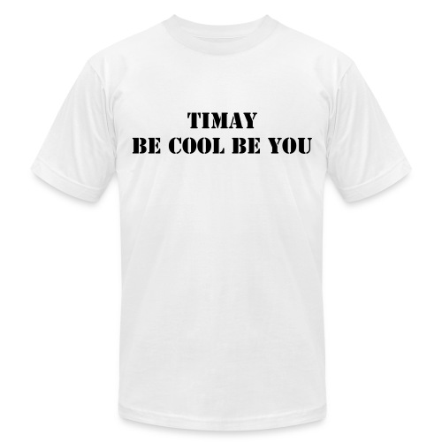 TIMAY T- SHIRT BY AMERICAN APPAREL   - Men's Fine Jersey T-Shirt