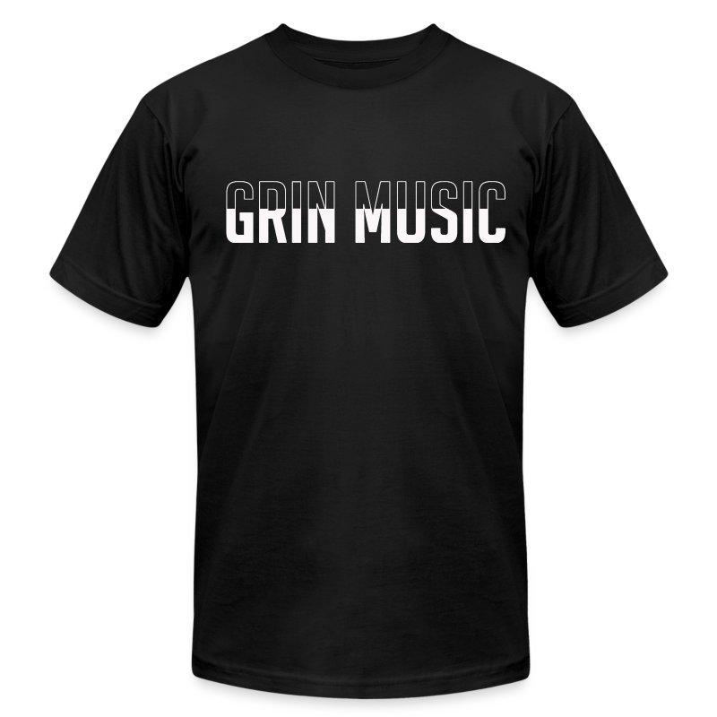 Grin-Music-Logo-Tee.png - Men's Fine Jersey T-Shirt