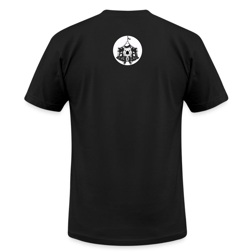 Grin-&-Bass-Logo-Tee.png - Men's T-Shirt by American Apparel