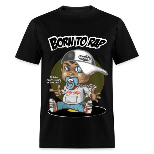 Born to Rap Tee - Men's T-Shirt