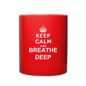 Breathe Deep Mug - Full Color Mug