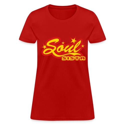 Women's Soul Sista V-neck - Women's T-Shirt