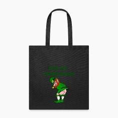Funny Leprechaun St. Patrick's Day Bags & backpacks