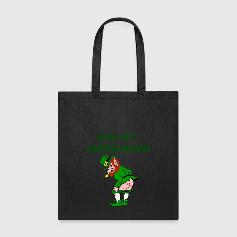Funny Leprechaun St. Patrick's Day Bags & backpacks - Tote Bag