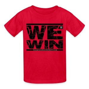 We Win Kids wdark art - Kids' T-Shirt