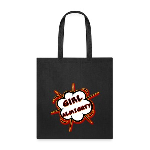 Graffiti Girl Almighty Tote - Tote Bag