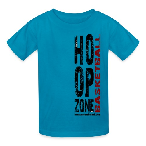 HZ Big Kids w/dark art - Kids' T-Shirt